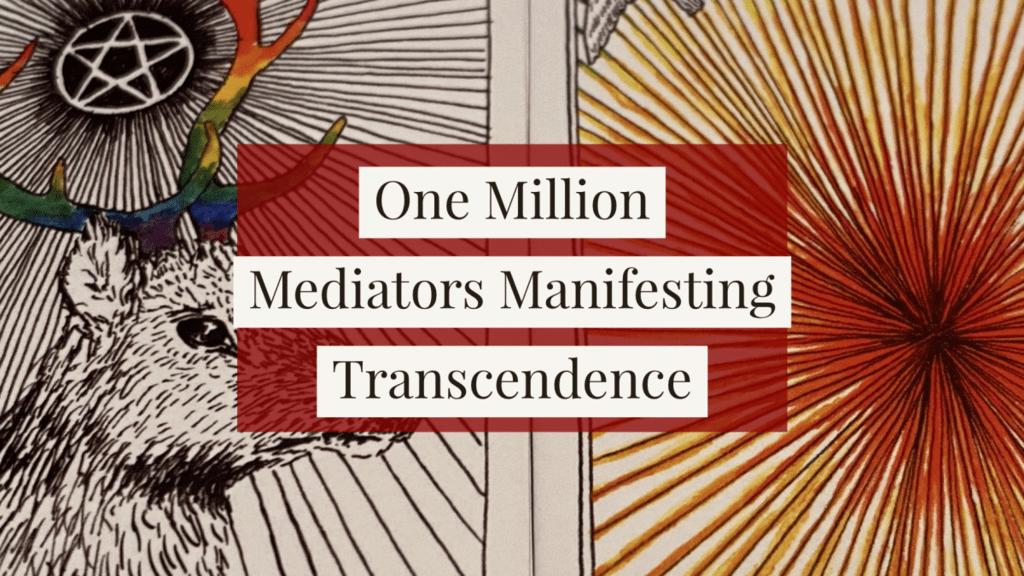 April 4 Free Mass Guided Meditation – One Million Mediators